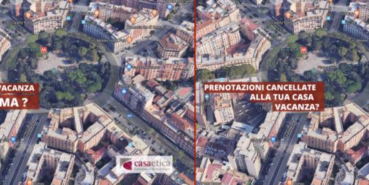 Hai una casa vacanza di proprietà a Roma e ti sei visto tutte le prenotazioni cancellate?